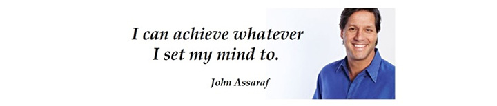 John Assaraf Quote Banner